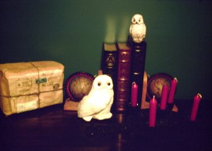 The Owl, Book & Candle