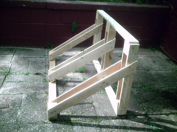 wood bike rack woodworking plans
