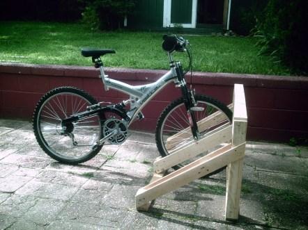 Homemade Wooden Bike Rack Plans Hushed38kdz