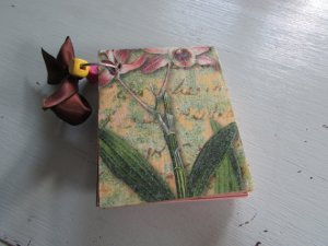 WOODEN MINI JOURNAL