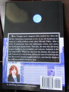 back cover Moonlit valley