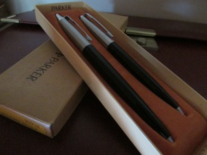 Jotter Pardner Set - Vintage Parker Photo by Maria Diaz