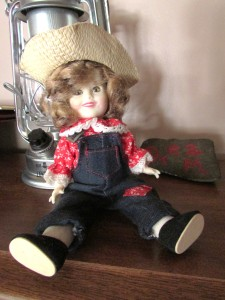 Vintage Shirley Temple Doll - photo by M.A.D.