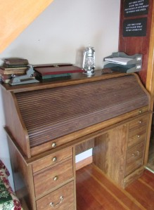 Roll Top Desk - photo by M.A.D.