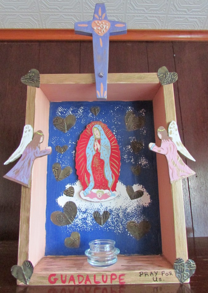 Virgin of Guadalupe Retablo