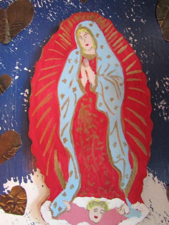 Guadalupe Virgin by Maria Antonia Diaz