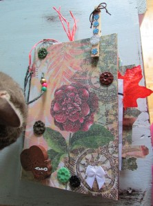 Recycled Materials Art Journal